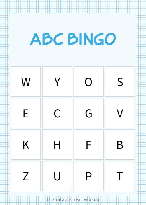 ABC BINGO