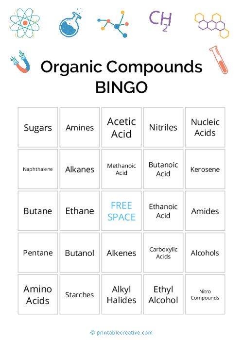 Organic Compounds|BINGO