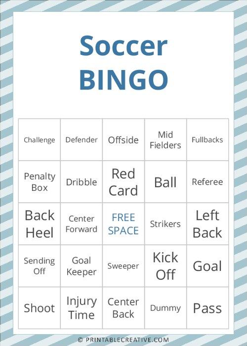 Soccer |BINGO