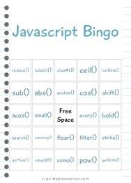Javascript Bingo